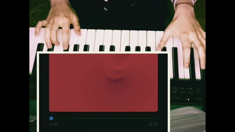 Red Hymn for the missing piano cover