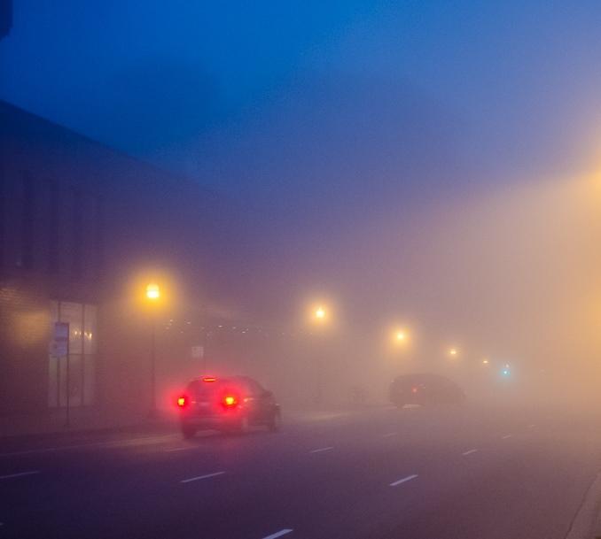 Курян предупреждают о тумане