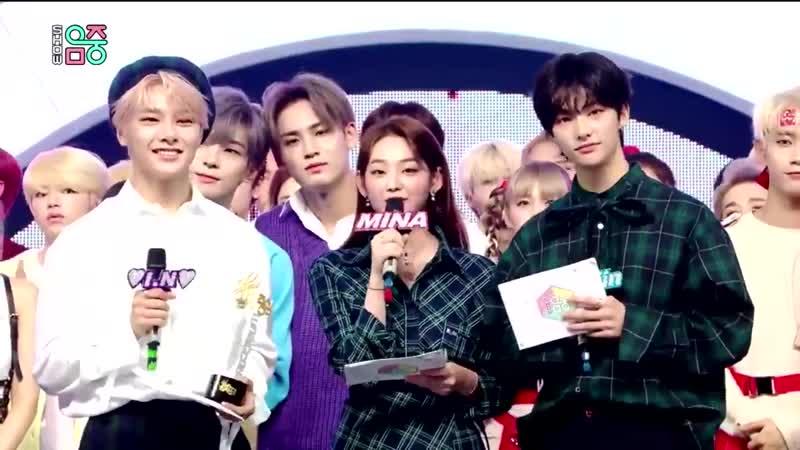 190921 Stray Kids Hyun Jin I N MC Show Music Core