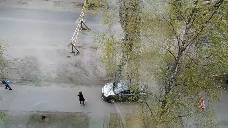 Вот так водители нарушают в Северодвинске