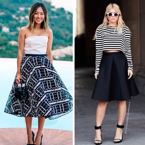 Как выбрать юбку, чтобы она подчеркивала достоинства фигура: 6 простых советов.