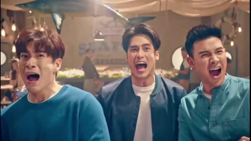 Грейт, Алек и Бой в рекламе