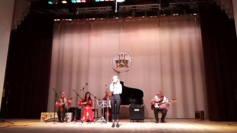 Творческий концерт посвященный 35 летию ОСК арни Ярок На тонких струнах души