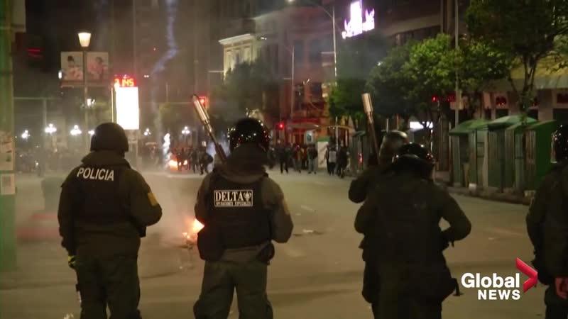 Очередной бесконечный Президент (Боливии) Эво Моралес уходит в отставку в результате военного госпереворота.