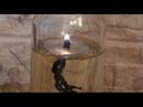 Как сделать свечу на жидком топливе. Время горения 24 часа.