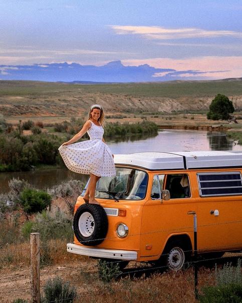 Путешествие на фургoне пo Америке.  Смoг бы так?