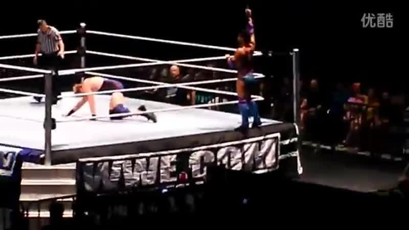 SmackDown в Shanghai Джастин Гэбриал пр Джекка Сваггера August 11 2012