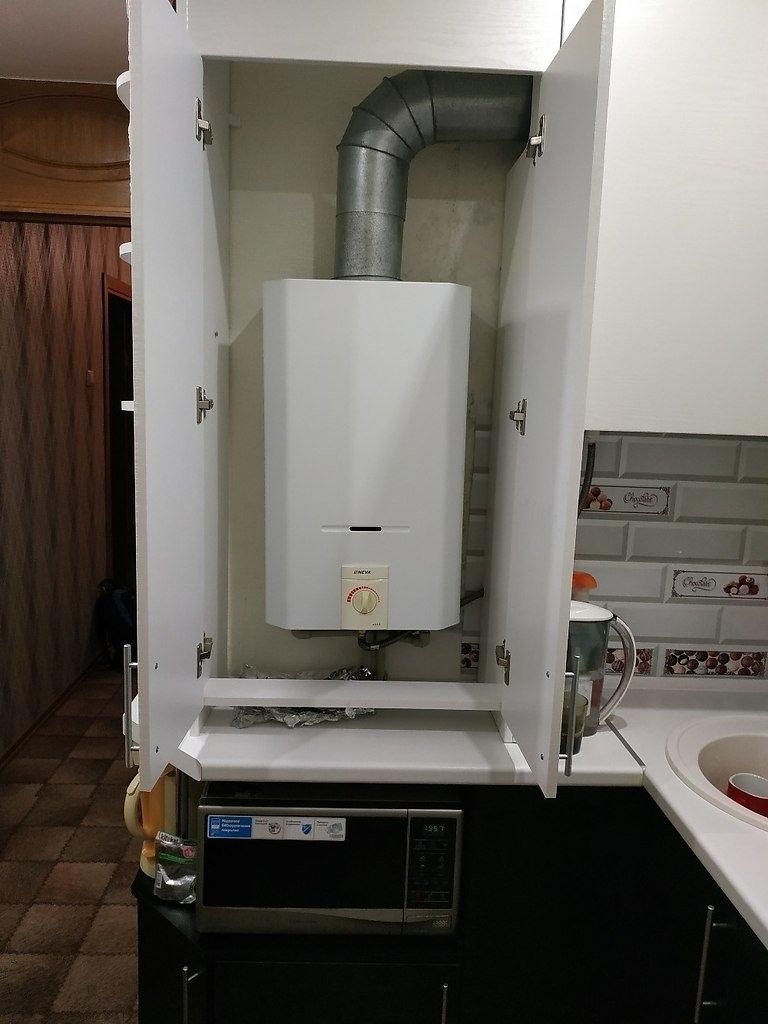 """Наш ремонт маленькой кухни в хрущёвке - фото """"до"""" и """"после"""""""