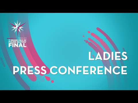 Press Conference: Ladies Short Program ISU Grand Prix Final Torino 2019 GPFigure