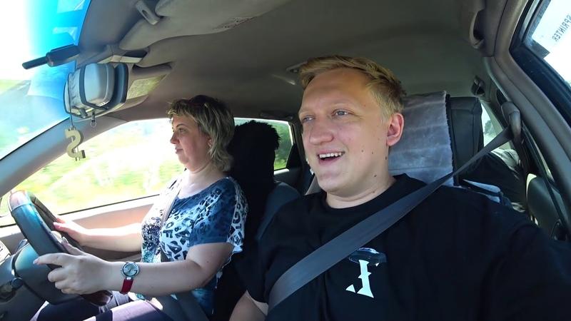 24 часа с МАМОЙ Варпача ❤️ Чиню Папину машину и Мама первый раз за рулем