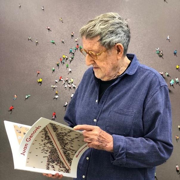 Испанский художник Хуан Геновес (год рождения-1930).