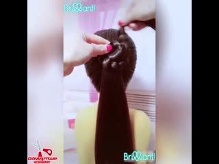 Куча красивых причёсок на каждый день! Просто супер!