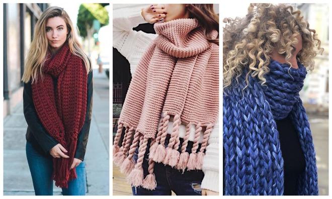 Модные шарфы осень-зима 2019-2020: как и с чем носить