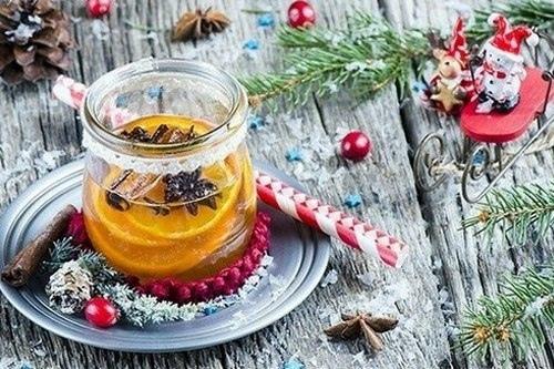 Мандариновый ликер с медом