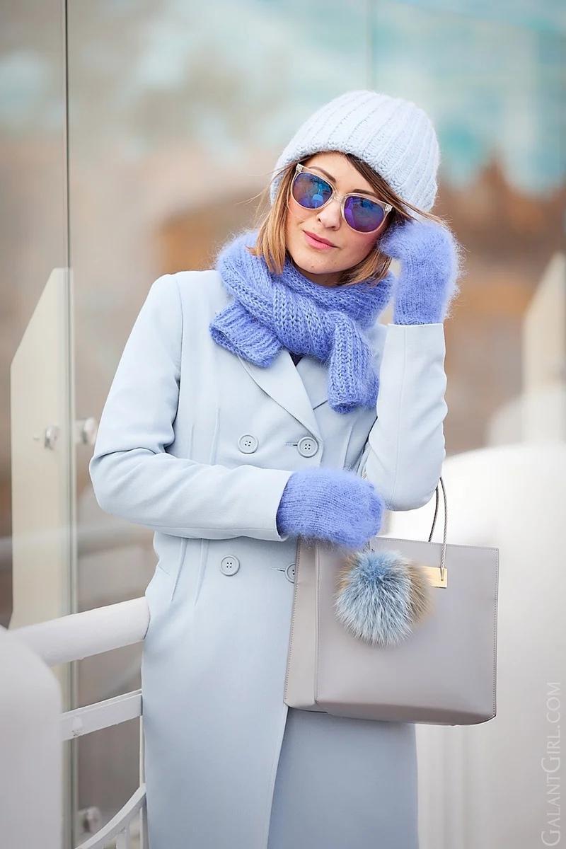 Самые актуальные сочетания шапок и шарфов на эту зиму