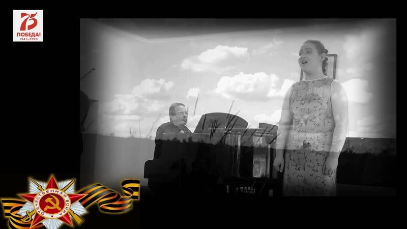 75-летию Великой Победы посвящается! А.Петров, сл. Ю.Друниной На Кургане. Исполняет моя ученица Надорова Мария