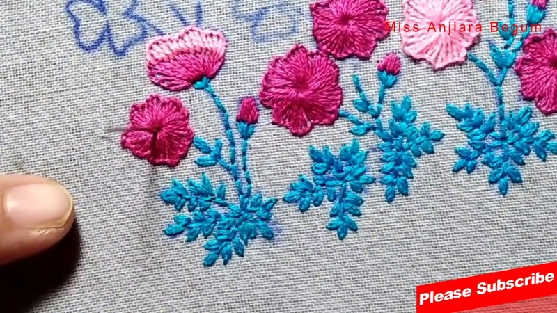 Attractive Table cloth Embroidery for your Dining Table Secrets of Embroidery 59 StayHome