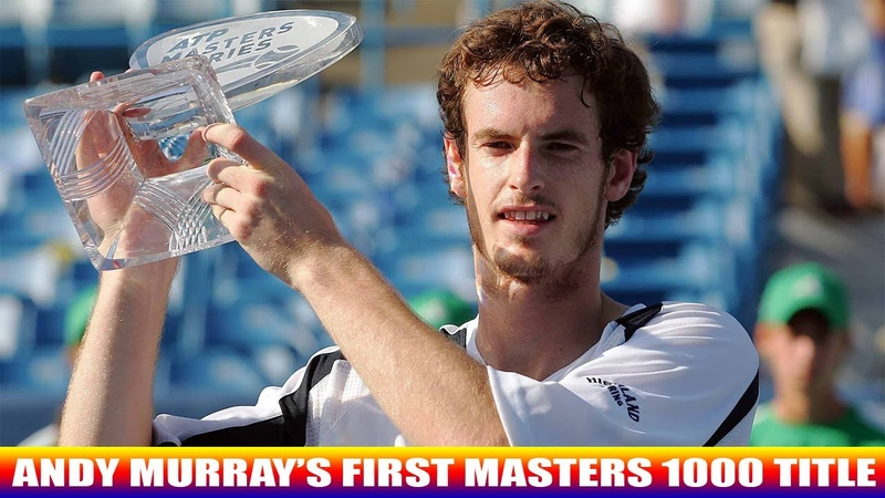 Andy Murray beats Novak Djokovic to win first Masters 1000 title | Cincinnati Masters 2008 Final
