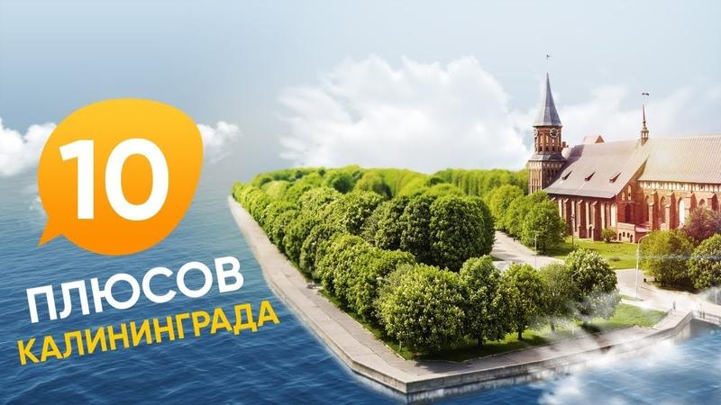 10 плюсов Калининграда / Переезд в Калининград из Сибири / Съемка с квадрокоптера