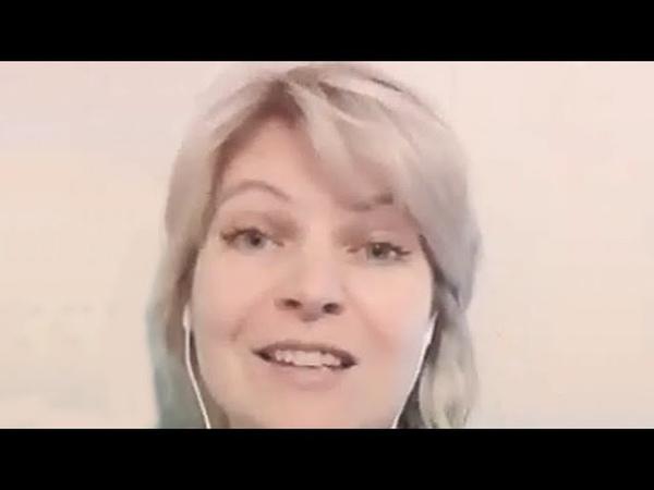 Ольга Бут пение под караоке Большой секрет для маленькой компании С Никитин Ю Мориц