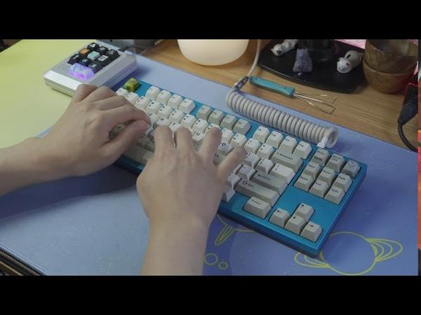 Typing TGR Jane V2 w lubed Nixies 65g