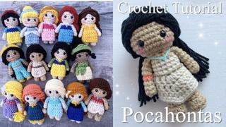 How to Crochet a Princess Doll: Amigurumi Tutorial