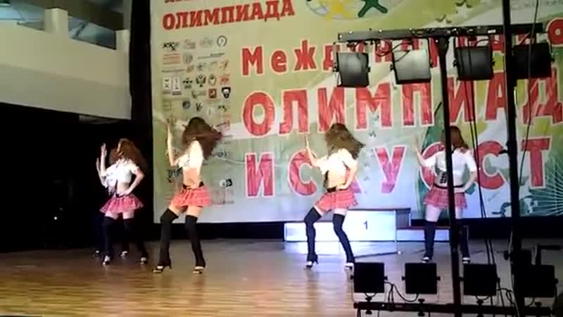 Стрип пластика эротическое шоу малая группа Школьницы