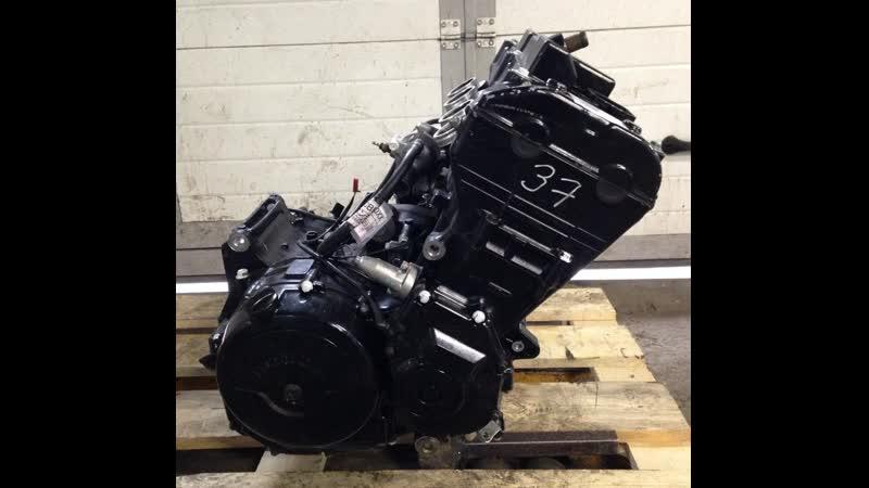 Проверка контрактного двигателя Honda CBR1100XX SC35E перед отправкой клиенту