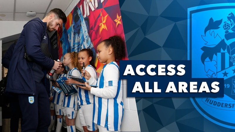 🏟 ACCESS ALL AREAS Huddersfield Town vs Bristol City