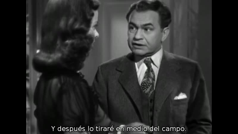 1944 - The Woman in the Window - La mujer del cuadro - Fritz Lang - VOSE