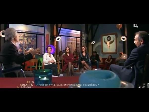 Vidéo Eric Zemmour face à Mazarine Pingeot et Daniel Cohn Bendit dans Les Grandes Questions