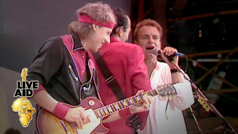 Dire Straits Sting Money For Nothing Live Aid 1985