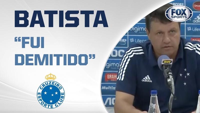 OS ATLETAS TOMARAM CONTA DO CRUZEIRO Adílson Batista anuncia demissão e critica conselho gestor