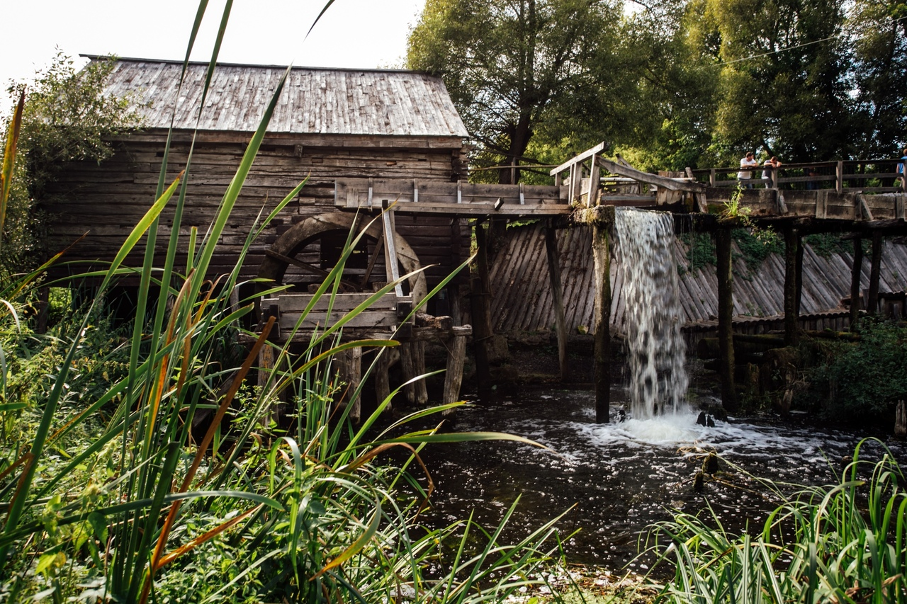Курский краеведческий музей проводит экскурсии на водяную мельницу