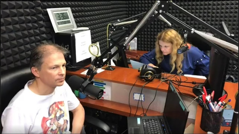 Фёдор Чистяков 01 08 2017 Интервью на RUSA Radio NY