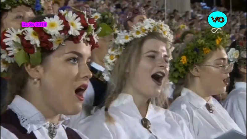 My top 5 songs from latvian song and dance festival 2018