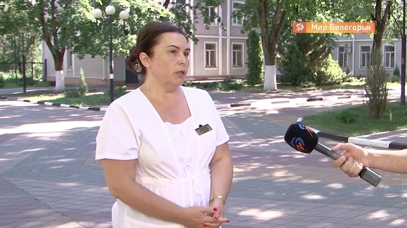 Трое рабочих сорвались с высоты в Белгороде ТРК Мир Белогорья