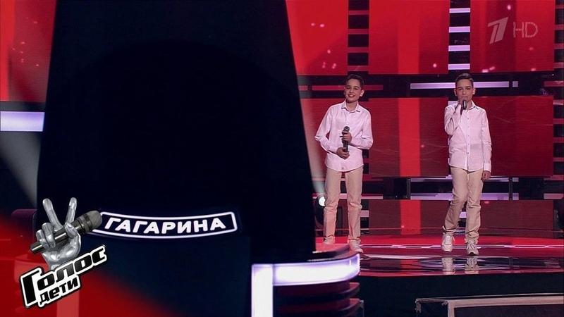 Дмитрий иСергей Коценко Красный конь Голос Дети 7 Слепое прослушивание Фрагмент выпуска от13 03 2020