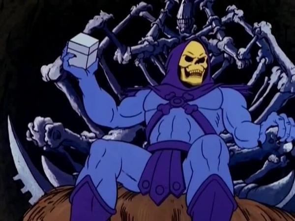 Hehehehe Skeletor