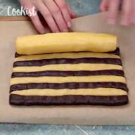 id_51054 Двухцветное печенье 🍫😍🍪  Автор: Cookist  #gif@bon