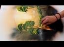 Необычная техника риcyнка - поразитeльно крacивая paбота