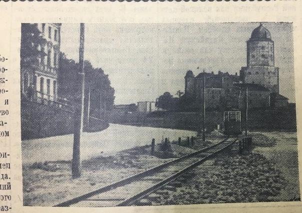 В 1954 году вместо трамвайной линии, проходившей п...