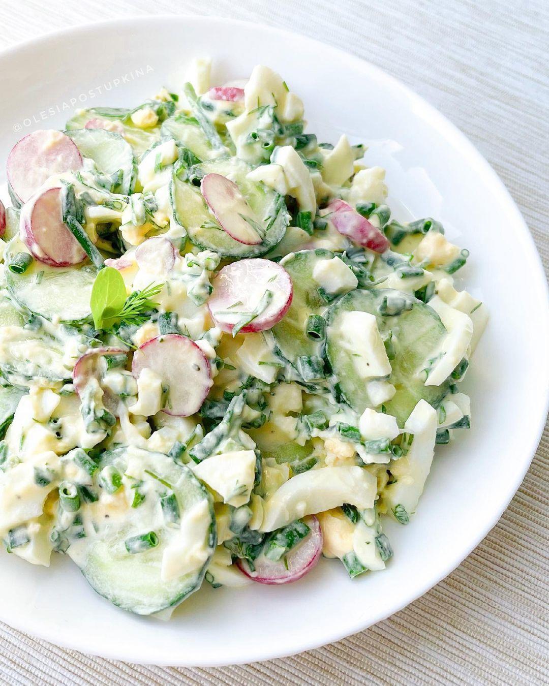 Легендарный летний салат