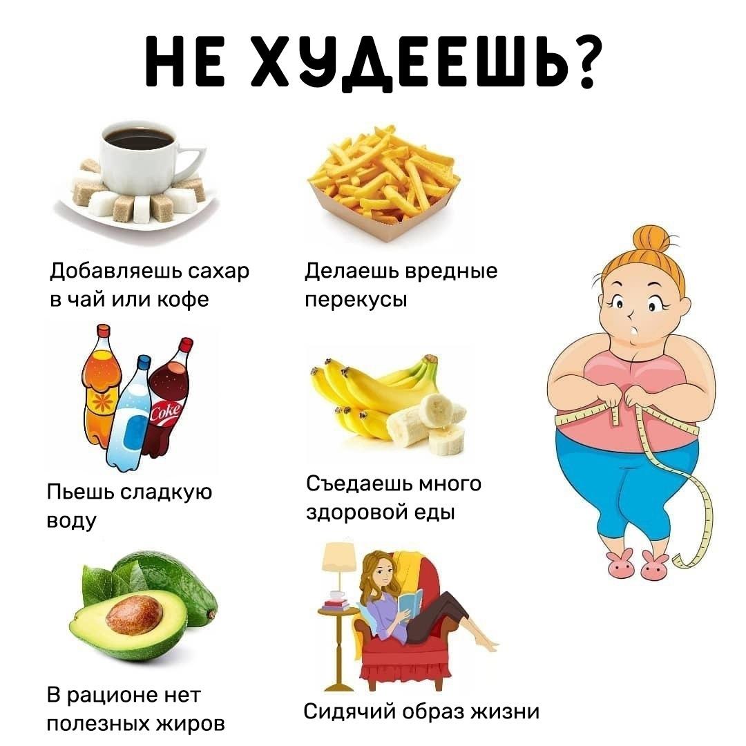 Основные ошибки при которых ваш вес стоит