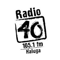 """Логотип """"Радио 40"""" Калуга (Официальное сообщество)"""