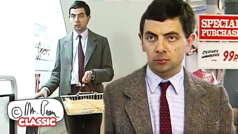 Мистер Бин В ТОРГОВОМ ЦЕНТРЕ Мистер Бин Полные Эпизоды Классический Мистер Бин