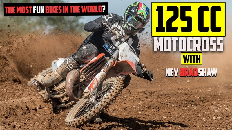 Insane Cable Stretching Moto on 125cc MX Bike! RAW