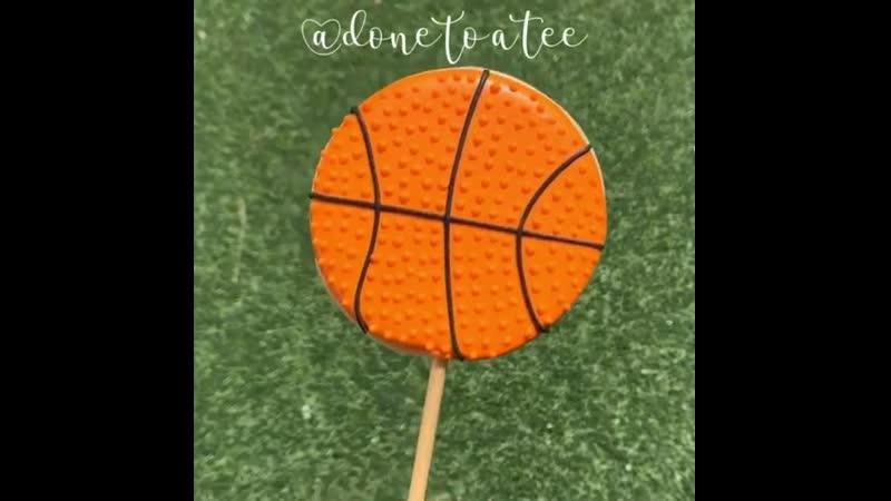 Как украсить печенье в виде баскетбольного мяча Наша группа в ВК Торты на заказ Мировые шедевры