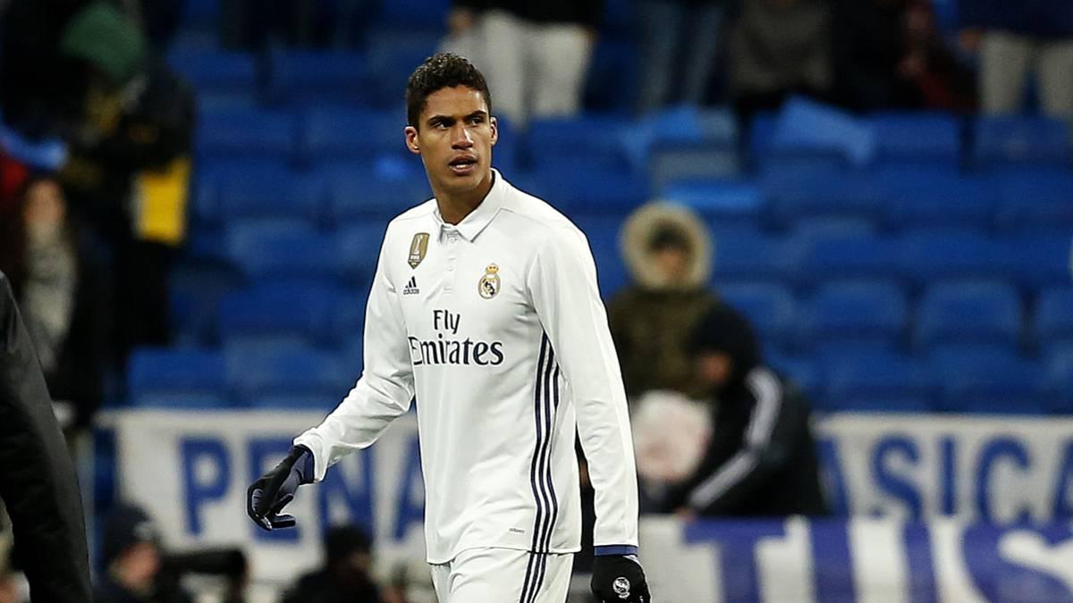 Рафаэль Варан. ФК Реал Мадрид