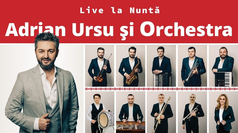 Adrian Ursu Live la Nuntă Constantine Constantine Filmare la Nuntă
